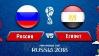 Россия:Египет - 3:1