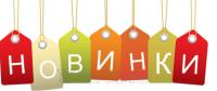 "Новый раздел ""НОВИНКИ"""